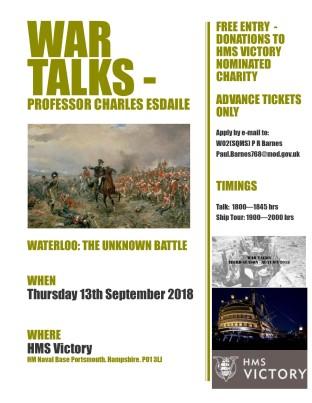 20180820-20180913_Talk_Prof_Charles_Esdaile-