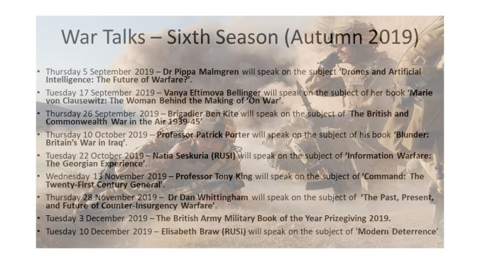 20190726-War Talks – Sixth Season (Sep - Dec 2019)1.