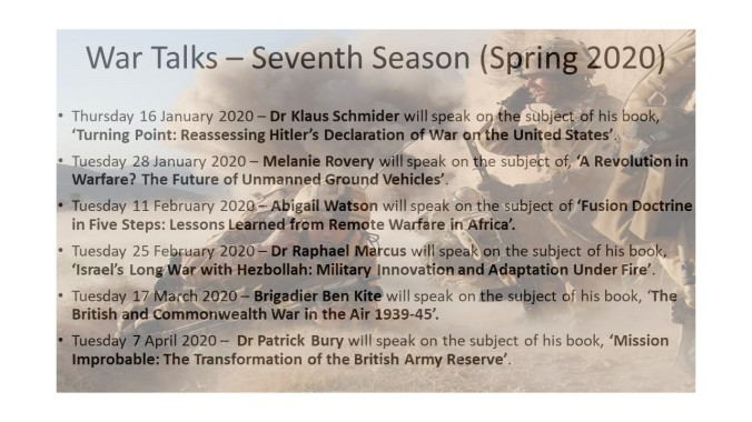 20191201-War Talks – Seventh Season (Jan - Mar 2020)1